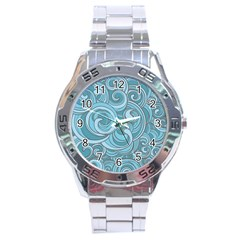Abstract Nature 8 Stainless Steel Analogue Watch by tarastyle