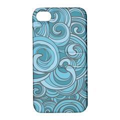 Abstract Nature 8 Apple Iphone 4/4s Hardshell Case With Stand