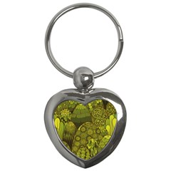 Abstract Nature 11 Key Chains (heart)  by tarastyle