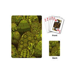 Abstract Nature 11 Playing Cards (mini)  by tarastyle
