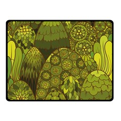Abstract Nature 11 Double Sided Fleece Blanket (small)  by tarastyle