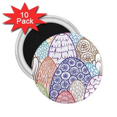 Abstract Nature 12 2 25  Magnets (10 Pack)  by tarastyle