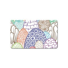 Abstract Nature 12 Magnet (name Card) by tarastyle