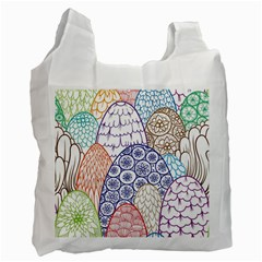 Abstract Nature 12 Recycle Bag (one Side) by tarastyle