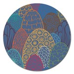 Abstract Nature 13 Magnet 5  (Round) Front