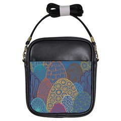 Abstract Nature 13 Girls Sling Bags by tarastyle