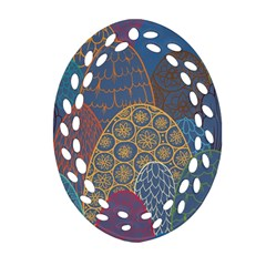 Abstract Nature 13 Ornament (oval Filigree) by tarastyle