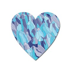 Abstract Nature 14 Heart Magnet by tarastyle