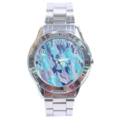Abstract Nature 14 Stainless Steel Analogue Watch by tarastyle