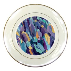 Abstract Nature 15 Porcelain Plates by tarastyle