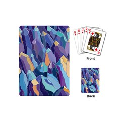 Abstract Nature 15 Playing Cards (mini)  by tarastyle
