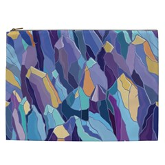 Abstract Nature 15 Cosmetic Bag (xxl)  by tarastyle
