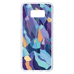 Abstract Nature 15 Samsung Galaxy S8 Plus White Seamless Case by tarastyle
