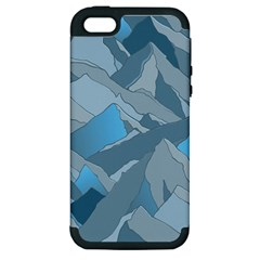 Abstract Nature 16 Apple Iphone 5 Hardshell Case (pc+silicone) by tarastyle