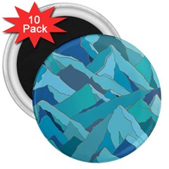 Abstract Nature 17 3  Magnets (10 Pack)  by tarastyle