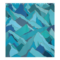 Abstract Nature 17 Shower Curtain 66  X 72  (large)  by tarastyle