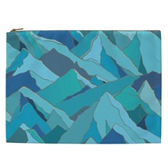 Abstract Nature 17 Cosmetic Bag (xxl)  by tarastyle