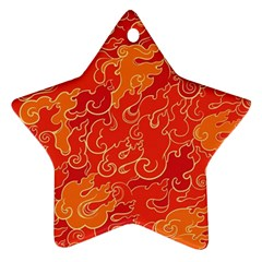 Abstract Nature 18 Ornament (star) by tarastyle
