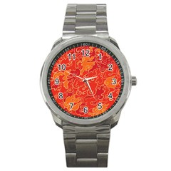 Abstract Nature 18 Sport Metal Watch