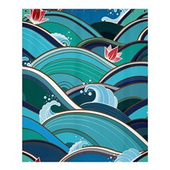 Abstract Nature 19 Shower Curtain 60  X 72  (medium)  by tarastyle