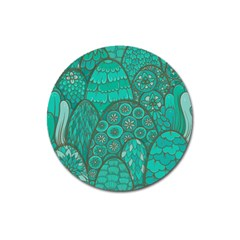 Abstract Nature 21 Magnet 3  (round) by tarastyle