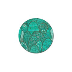 Abstract Nature 21 Golf Ball Marker (4 Pack) by tarastyle