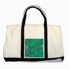 Abstract Nature 21 Two Tone Tote Bag by tarastyle