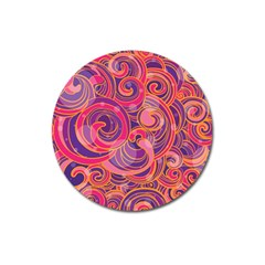 Abstract Nature 22 Magnet 3  (round) by tarastyle