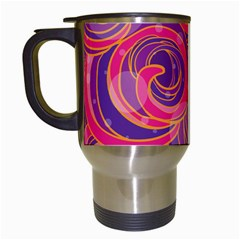 Abstract Nature 22 Travel Mugs (white) by tarastyle
