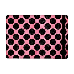 Circles2 Black Marble & Pink Watercolor Ipad Mini 2 Flip Cases by trendistuff
