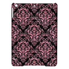 Damask1 Black Marble & Pink Watercolor (r) Ipad Air Hardshell Cases
