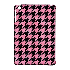 Houndstooth1 Black Marble & Pink Watercolor Apple Ipad Mini Hardshell Case (compatible With Smart Cover) by trendistuff