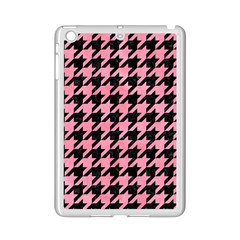 Houndstooth1 Black Marble & Pink Watercolor Ipad Mini 2 Enamel Coated Cases by trendistuff