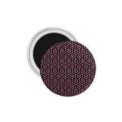 Hexagon1 Black Marble & Pink Watercolor (r) 1 75  Magnets by trendistuff