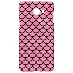 Scales1 Black Marble & Pink Watercolor Samsung C9 Pro Hardshell Case  by trendistuff