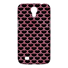 Scales3 Black Marble & Pink Watercolor (r) Samsung Galaxy Mega 6 3  I9200 Hardshell Case by trendistuff