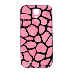 Skin1 Black Marble & Pink Watercolor (r) Samsung Galaxy S4 I9500/i9505  Hardshell Back Case by trendistuff