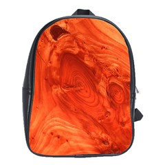 Fantastic Wood Grain 917a School Bag (xl) by MoreColorsinLife