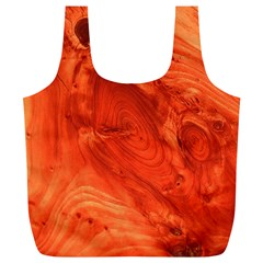 Fantastic Wood Grain 917a Full Print Recycle Bags (l)  by MoreColorsinLife