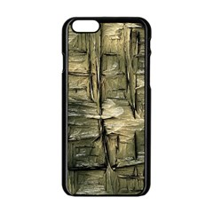 Grannys Hut   Structure 2a Apple Iphone 6/6s Black Enamel Case by MoreColorsinLife