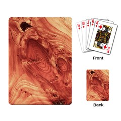 Fantastic Wood Grain 917b Playing Card by MoreColorsinLife