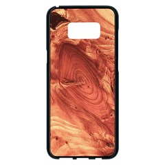 Fantastic Wood Grain 917b Samsung Galaxy S8 Plus Black Seamless Case by MoreColorsinLife