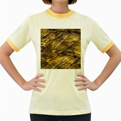 Grannys Hut   Structure 1a Women s Fitted Ringer T Shirts by MoreColorsinLife