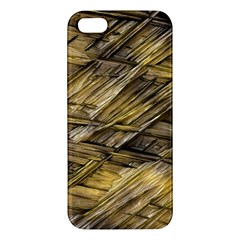 Grannys Hut   Structure 1a Apple Iphone 5 Premium Hardshell Case by MoreColorsinLife