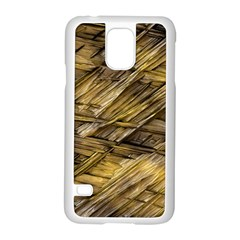 Grannys Hut   Structure 1a Samsung Galaxy S5 Case (white) by MoreColorsinLife