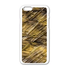 Grannys Hut   Structure 1a Apple Iphone 6/6s White Enamel Case by MoreColorsinLife