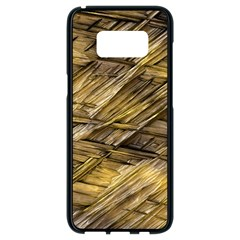 Grannys Hut   Structure 1a Samsung Galaxy S8 Black Seamless Case by MoreColorsinLife