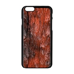 Grannys Hut   Structure 3c Apple Iphone 6/6s Black Enamel Case by MoreColorsinLife