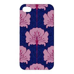 Beautiful Art Nouvea Floral Pattern Apple Iphone 4/4s Premium Hardshell Case by 8fugoso