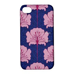 Beautiful Art Nouvea Floral Pattern Apple Iphone 4/4s Hardshell Case With Stand by 8fugoso